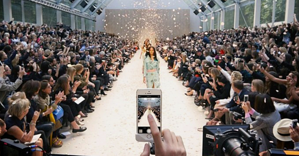 using social media manufacturing trends in fashion