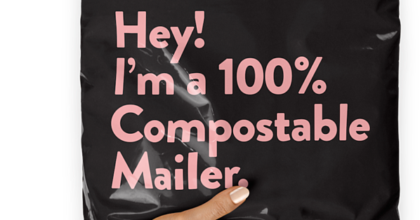 Compostable Packaging mailer
