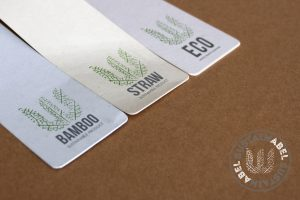 Straw, Bamboo and FSC Paper examples