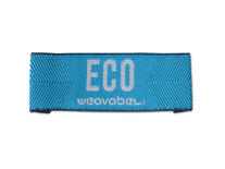 Recycled Polyester needleloom labels - P-WEAV-70