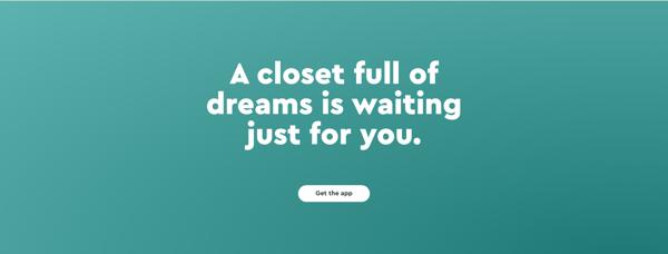 wardrobe sharing app innovative fashion startup
