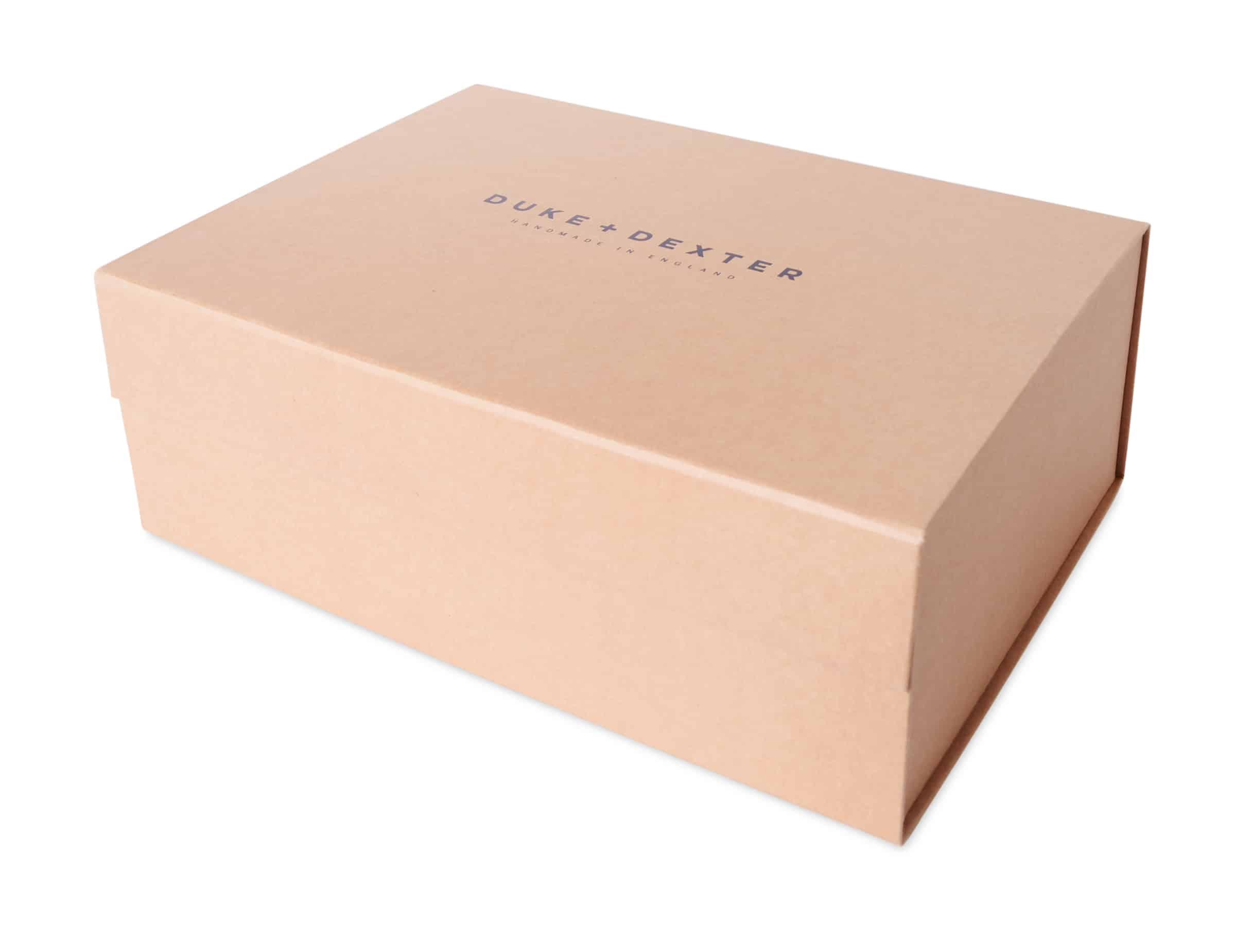 flat packed sustainable box