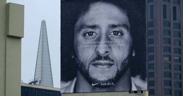nikes campaign is controversial which is a manufacturing trend