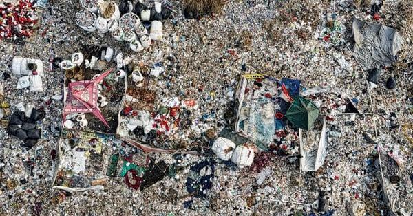 landfill devastation