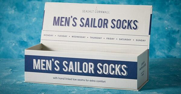 seasalt branding packaging with a narrative trend